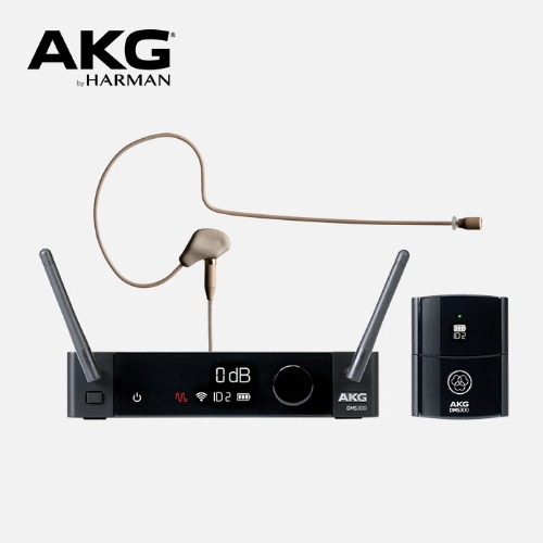 [AKG] DMS300 - Earhook MIC Set