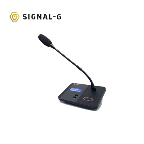 [SignalG] TD-7000D Digital Delegate Unit  회의용마이크시스템