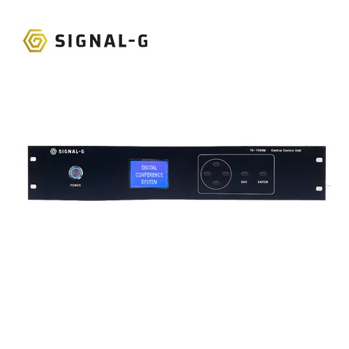 [SignalG] TD-7000M Central Control Unit 회의용마이크시스템